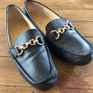 Marc Fisher Black Flat loafers